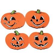"""Beistle 12"""" Pumpkin Cutouts, 16/Pack"""