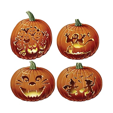 Carved Pumpkin Cutouts, 14