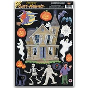 "Beistle 12"" x 17"" Haunted House Clings, 105/Pack"