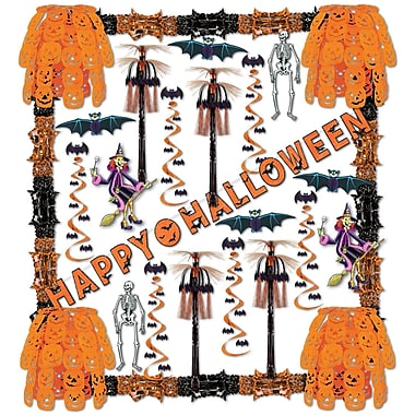 Beistle 34-Piece Halloween Reflections Decorating Kit