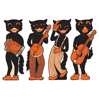 Scat Cat Band Cutouts, 17