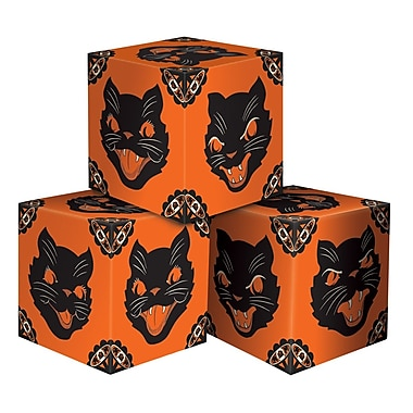 Halloween Cat Favor Boxes, 3 1/4