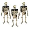 Beistle 2in. x 6 1/4in. Skeleton Favor Box, 9/Pack