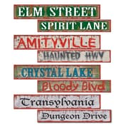 "Beistle 4"" x 24"" Halloween Street Sign Cutouts, 12/Pack"