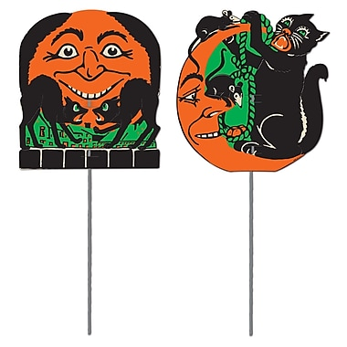 Scratch Cat Yard Signs, 5 1/2
