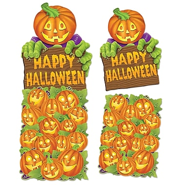 Jumbo Pumpkin Patch Cutouts, 24