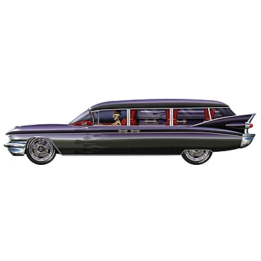 Jointed Haunted Hearse, 6', 2/pack