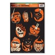 "Beistle 12"" x 17"" Halloween Characters Peel 'N Place Sticker, 24/Pack"