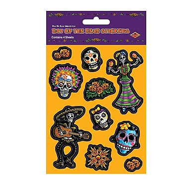 Day Of The Dead Stickers, 4 3/4