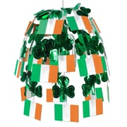 Beistle 24 Irish Flag Cascade, Orange/Green/White, 2/Pack