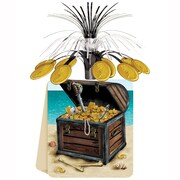 "Beistle 13"" Pirate Treasure Centerpiece, 3/Pack"