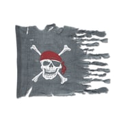 Beistle 29 x 3' 4 Weathered Pirate Flag, 2/Pack