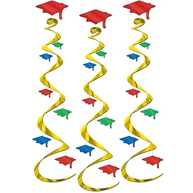 Graduation Cap Whirls, 30