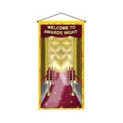 Beistle 30 x 5' Awards Night Door/Wall Panel, 2/Pack