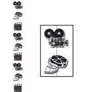"""Beistle 6' 6"""" Movie Set Stringer, 6/Pack"""