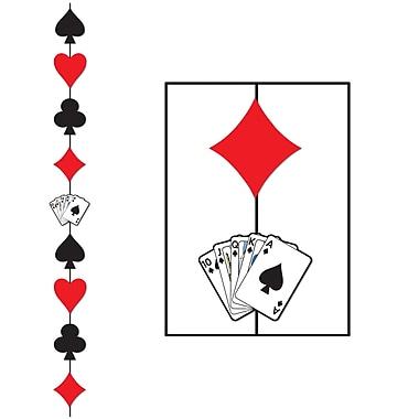 Cordon Couleurs de jeu de cartes, 6 pi 6 po, paq./6