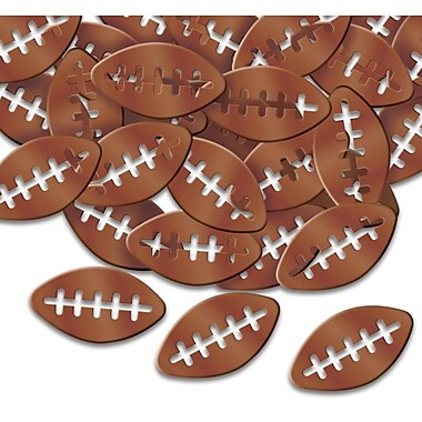 Fanci-Fetti Footballs, 5/Pack