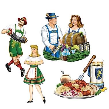 Découpes variées Oktoberfest, 16 po, paq./12