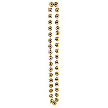Beistle Jumbo Party Beads Necklace, 22 mm x 40