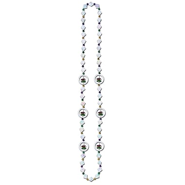 Beistle Mardi Gras Spinner Beads Necklace, 42