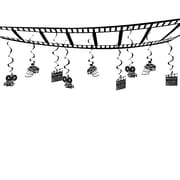 "Beistle 12"" x 12' Movie Set Ceiling Decor, 2/Pack"