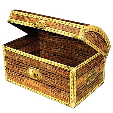 Large Treasure Chest Box, 11-3/4