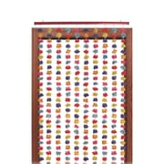 Beistle 6' 8 x 35 Silk 'N Petals Floral Curtain, Multicolor