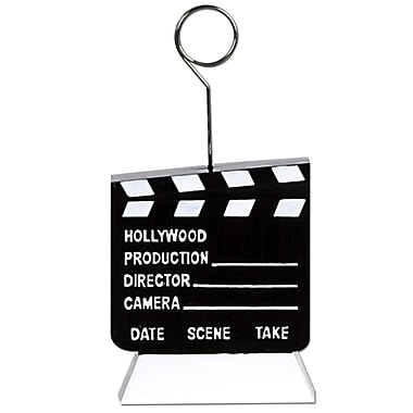 Clapboard Photo/Balloon Holder, 3/Pack