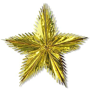 Étoile à feuillage, 16 po, 6/paquet