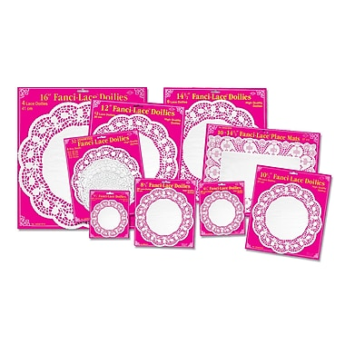 Fanci-Lace Bond Doilies, 16-1/2