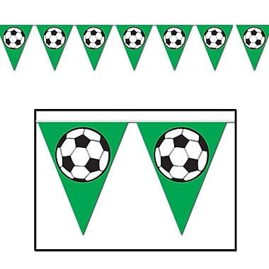 Soccer Ball Pennant Banner, 10