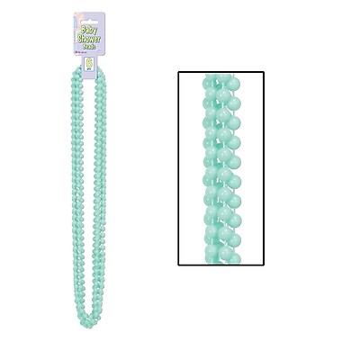 Mint Green Baby Shower Beads, 33