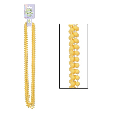 Yellow Baby Shower Beads, 33
