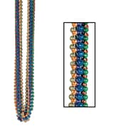 "Beistle Bulk Party Beads Round, 7 mm x 33"", Assorted"