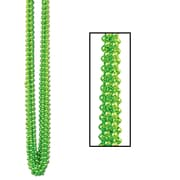 "Beistle 7 mm x 33"" Bulk Round Party Beads Necklaces"