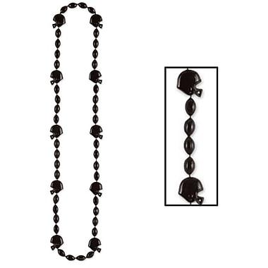 Collier de perles football, 36 po, 6/paquet