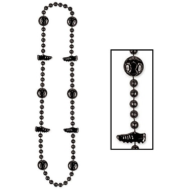 Beistle Soccer Beads Necklace, 36