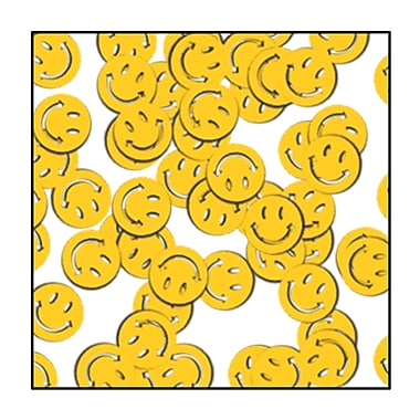 Fanci-Fetti Smile Faces, 5/Pack