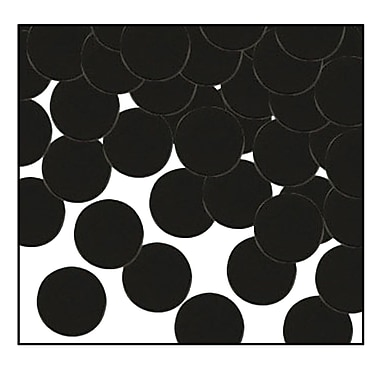 Fanci-Fetti Dots, Black, 5/Pack