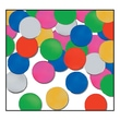 Beistle Dots Fanci Confetti, Multicolor, 5/Pack