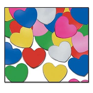Fanci-Fetti Hearts, Multi-Colour, 5/Pack