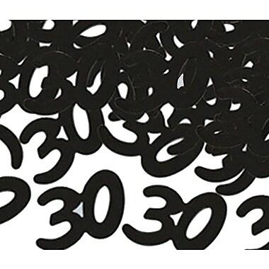 Fanci-Fetti silhouettes « 30 », noir, 5/paquet