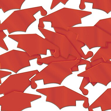 Mortiers Fanci-Fetti, rouge, paquet de 5