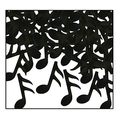 Fanci-Fetti Musical Notes, Black, 5/Pack
