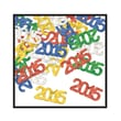 Beistle 1/4in. in.2015in. Silhouettes Fanci Confetti, Multicolor, 5/Pack
