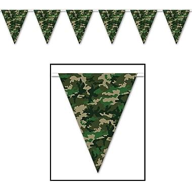 Camo Flag Pennant Banner, 10