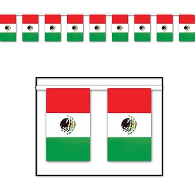 Outdoor Mexican Flag Banner, 17
