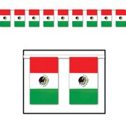Beistle 17 x 60' Outdoor Mexican Flag Banner