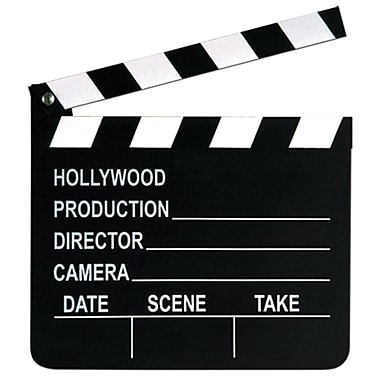 Movie Set Clapboard, 7