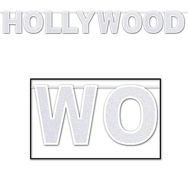 Banderole scintillante Hollywood, 8 1/2 po x 8 pi, 2/paquet